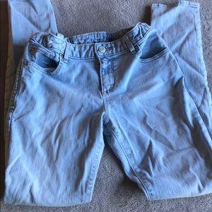Gap Kids Girls Super Skinny Jeans (size 12)